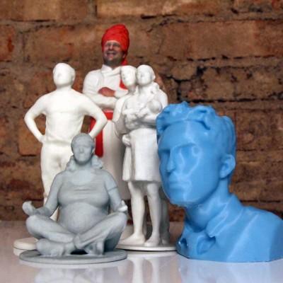 Sense 3D scanner examples