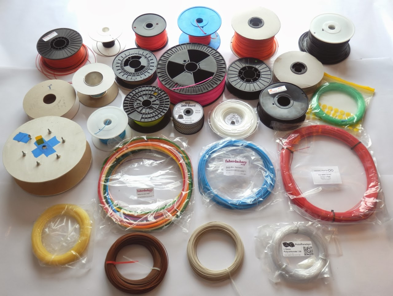 A guide to different types of 3D printer filament