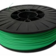 Green ABS 3D printer filament