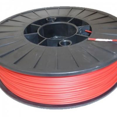 Red ABS 3D printer filament