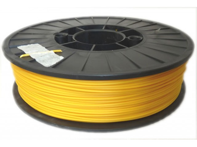 Yellow ABS 3D printer filament