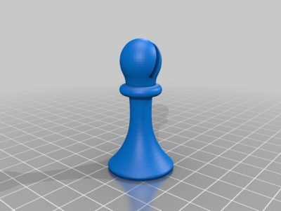 3D print the bishop from Duchamps chess set