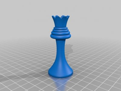 3D print the king from Duchamps chess set