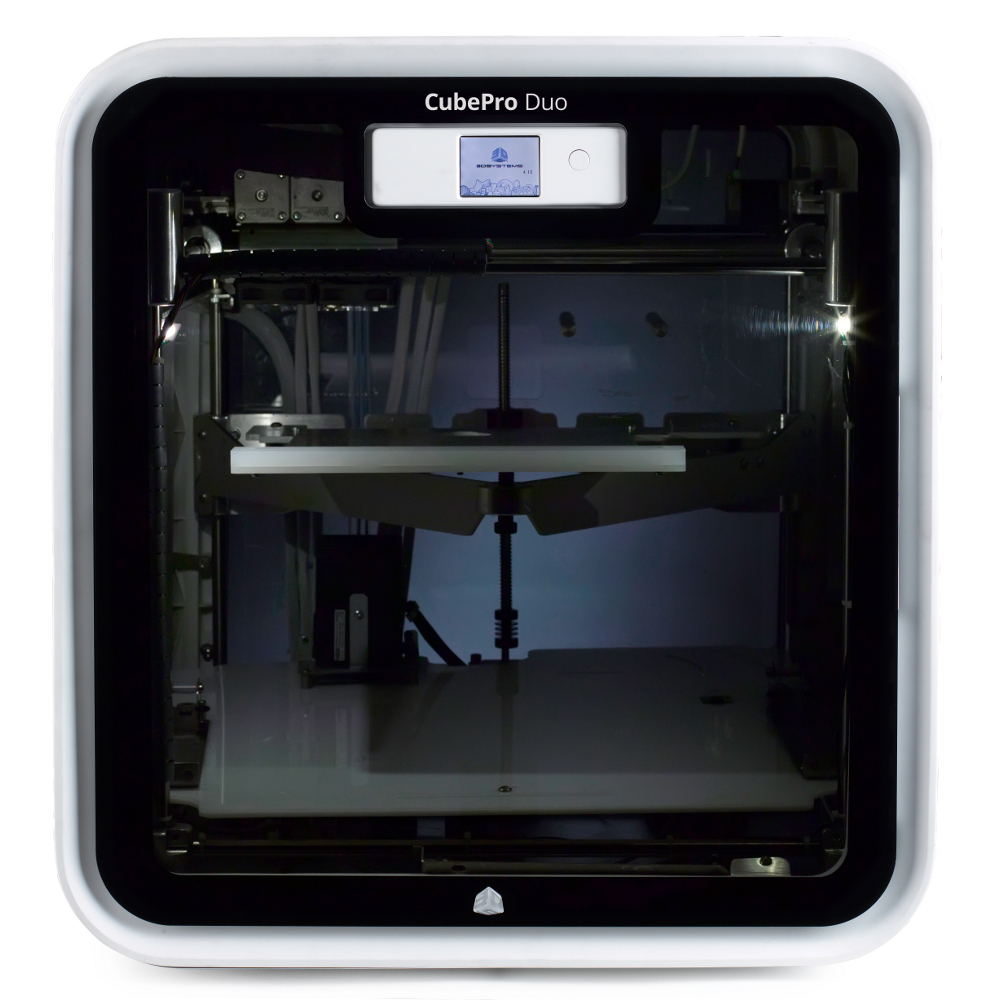 3D Stsyems CubePro 3D printer dual head