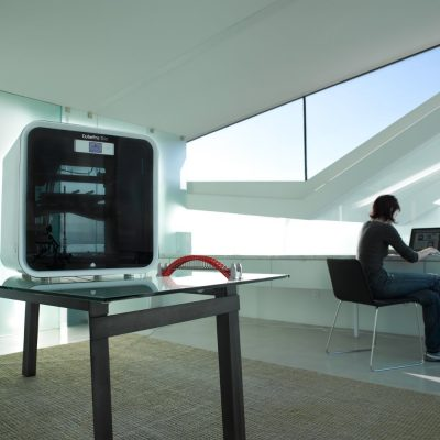3D Stsyems CubePro 3D printer in the Office