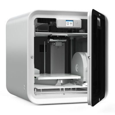 3D Stsyems CubePro 3D printer open
