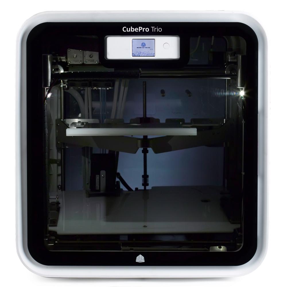 3D Stsyems CubePro 3D printer triple head
