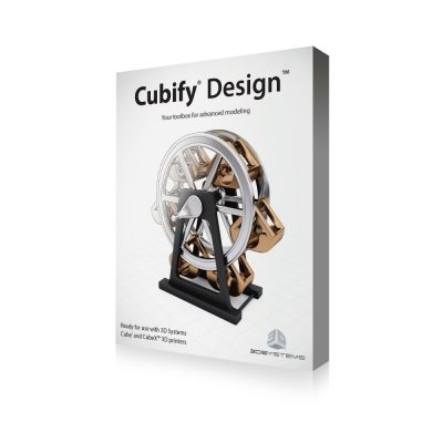 Cubify Design 3D modelling software for 3D printing