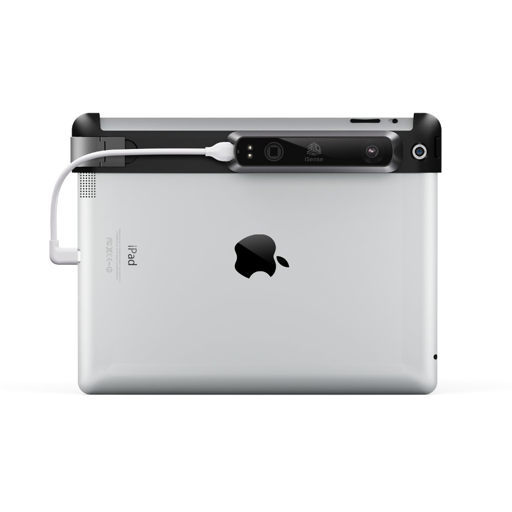 iSense 3D scanner for the iPad 4th generation
