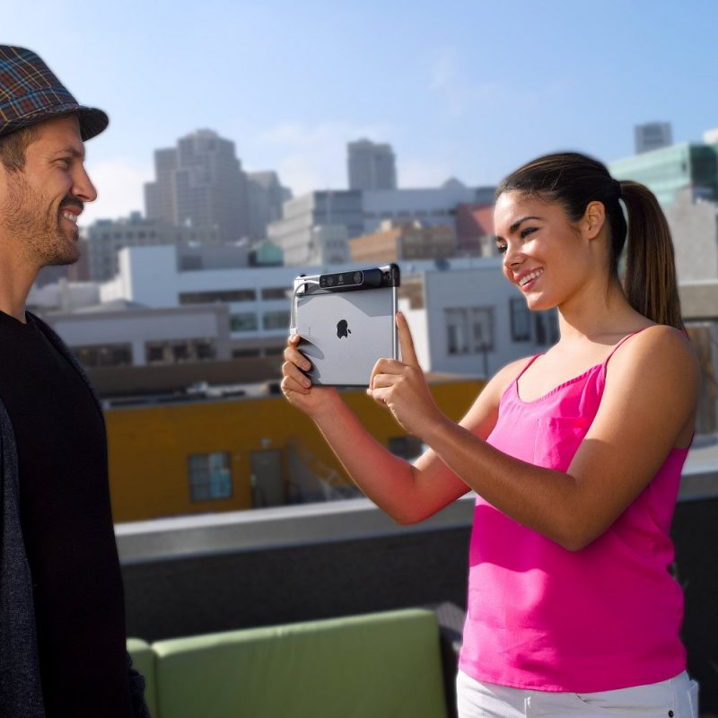 The highly portable iSense 3D scanner