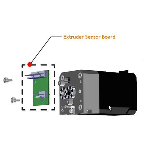 Cubepro extrudersensor board part number 401380