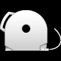 White CubePro 3D printer filament cartridge