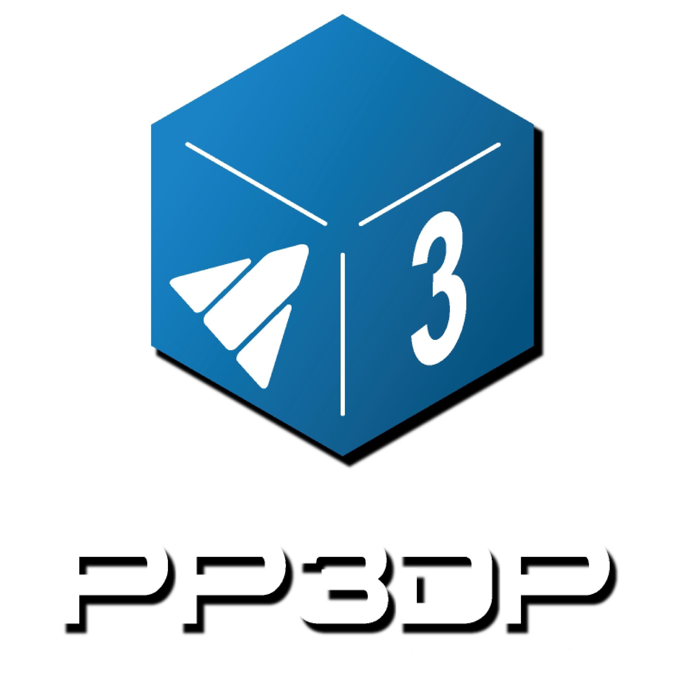 PP3DP logo
