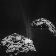 Comet 67P ESA phot