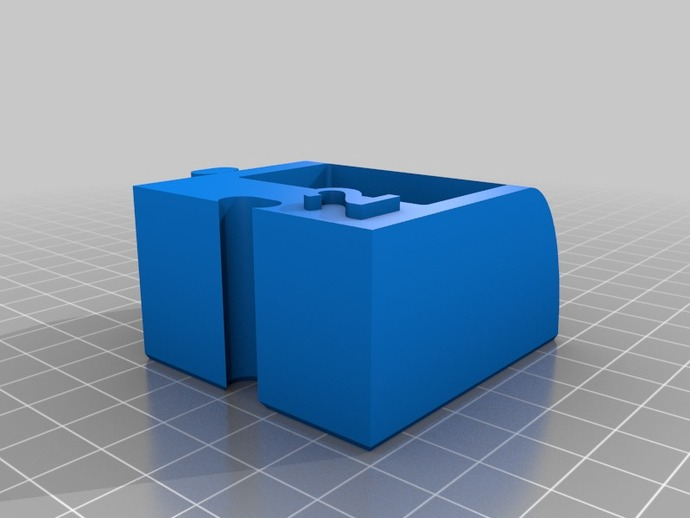3D printed Advent Calender Day 2 Box