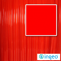 flame red ingeo pla filament