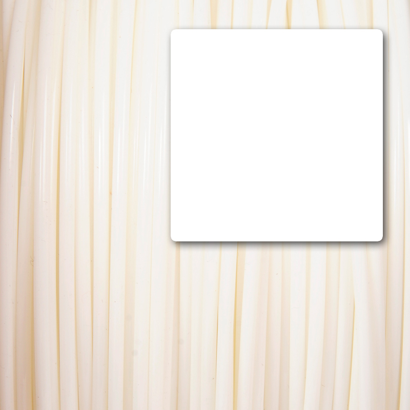 white quality ABS 3D printer filament