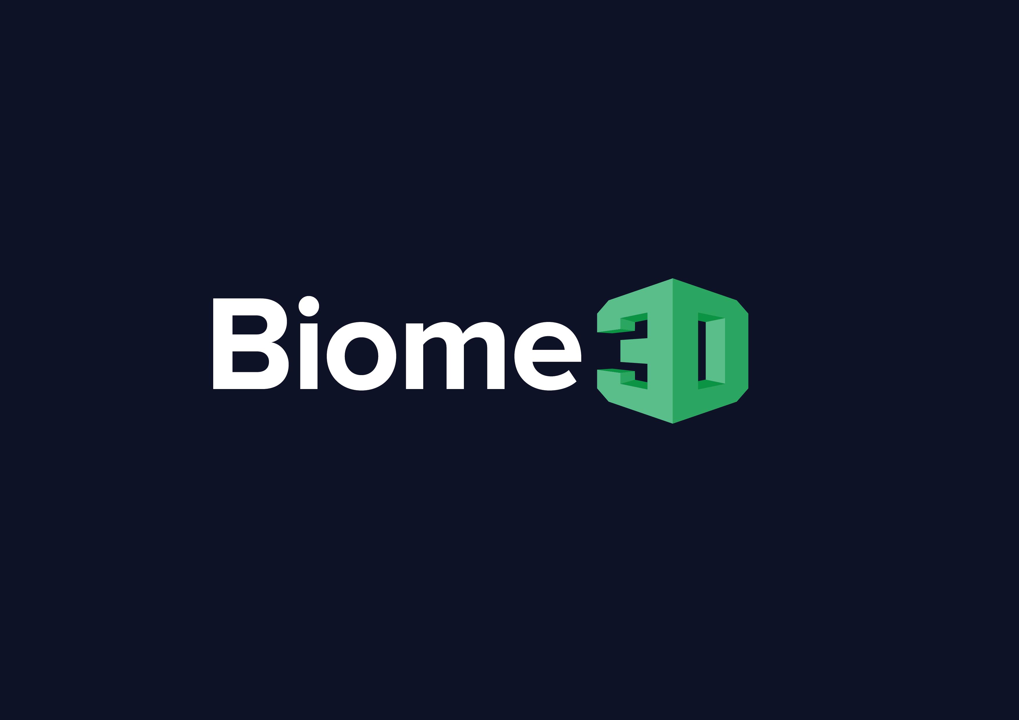 Biome 3D Logo PLA filament