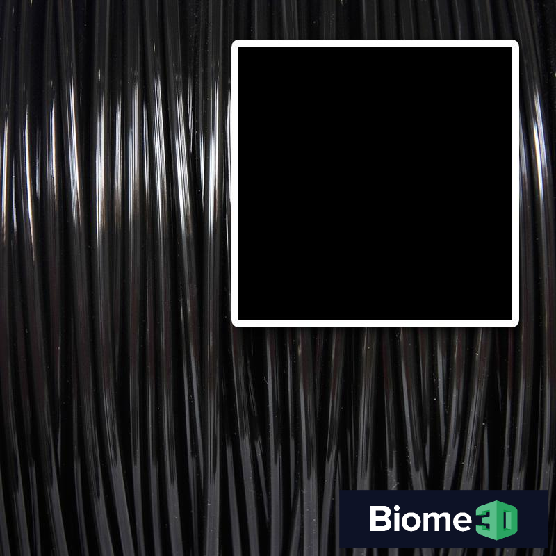 black biome 3d pla filament