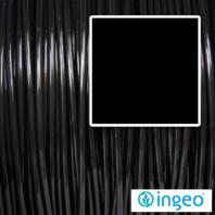 Black Ingeo PLA filament