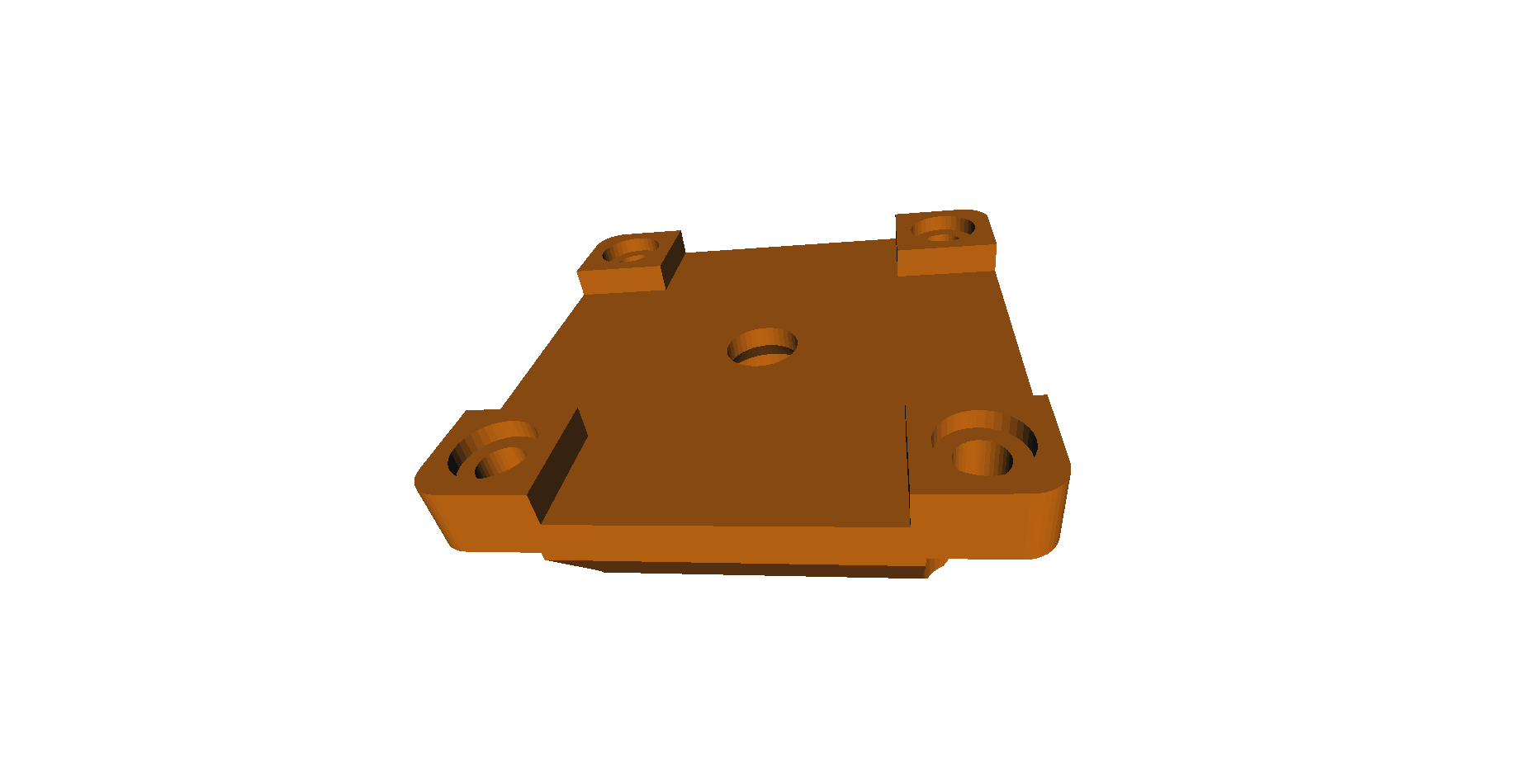 Counter backplate .STL File
