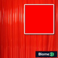 flame red biome pla filament