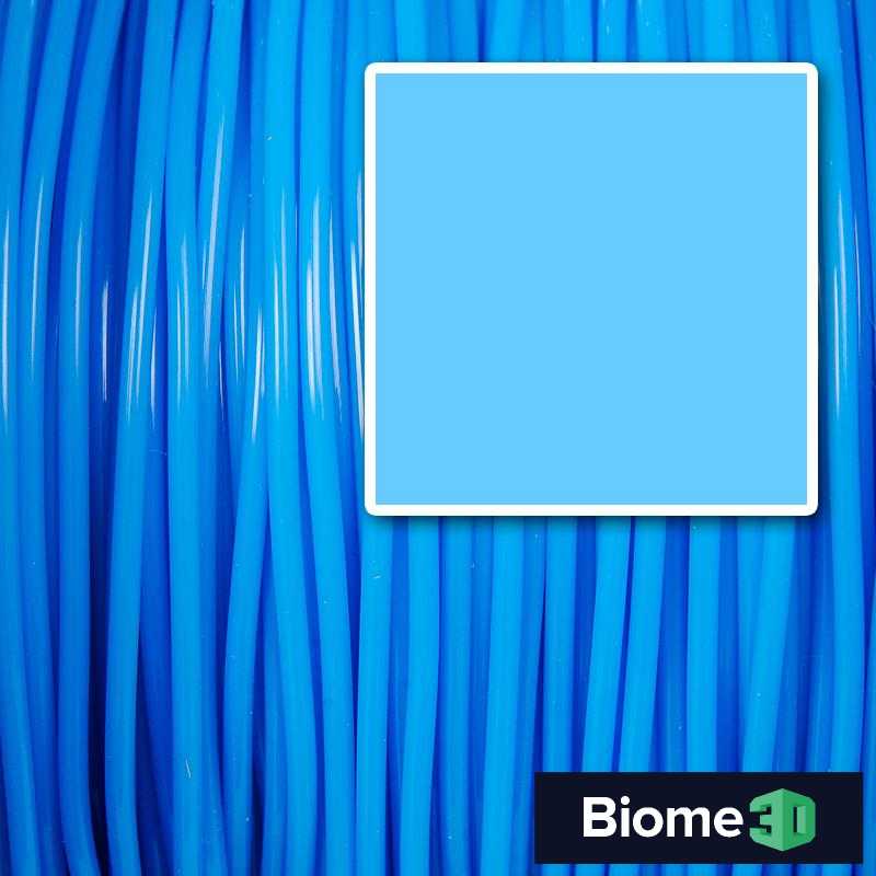 sky blue biome pla filament