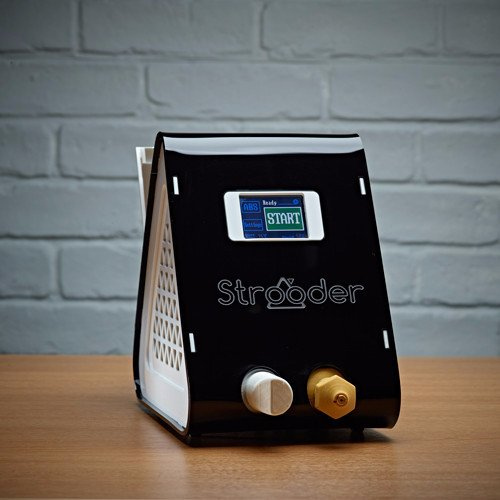 The Strooder Filament extruder by omnidynamics, a UK designed filament maker