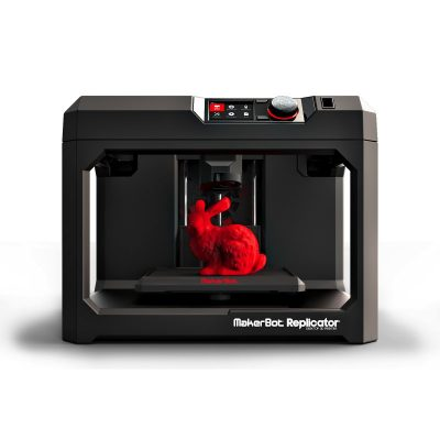 5th Generation Makerbot replicator desktop 3D printer