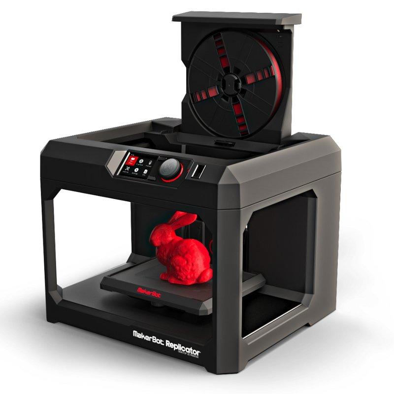 Makerbot replicator 5th gen open