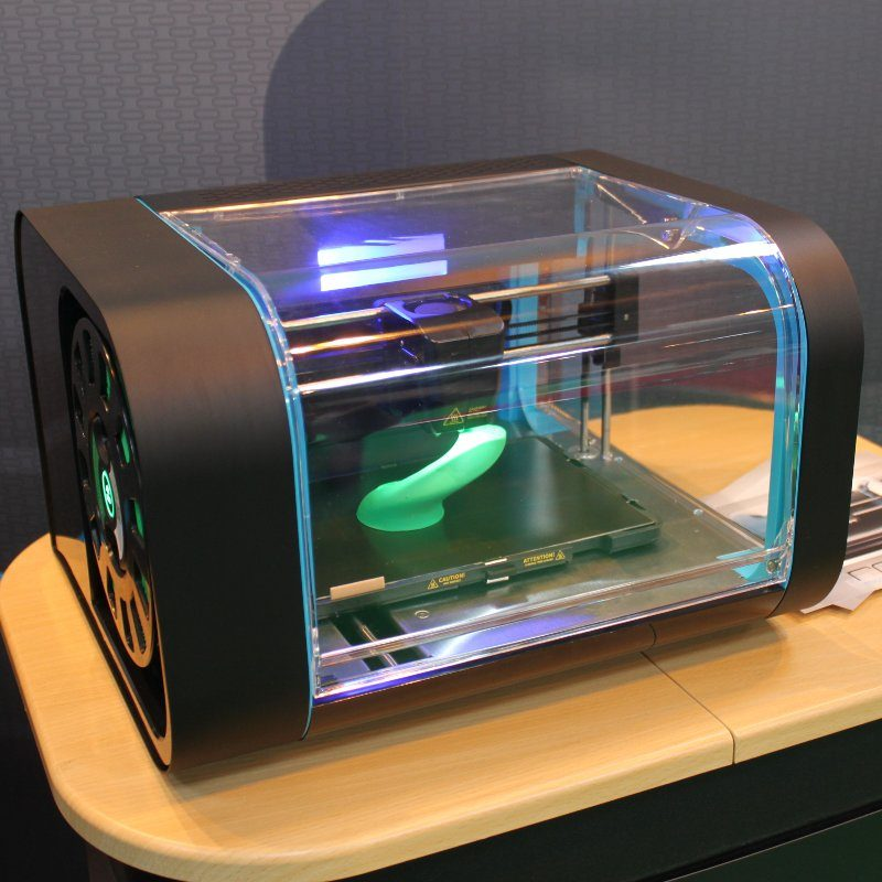 The Robox 3D printer at the TCT show 2014