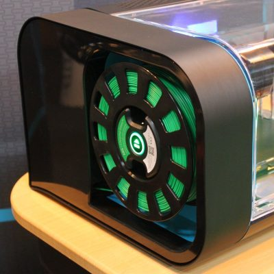 The Robox 3D printer with SmartReel 3D printer filament