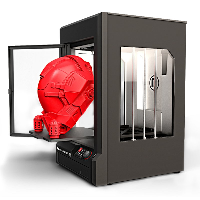 Makerbot Z18 with heated build area
