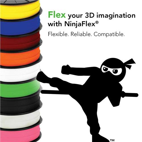 SpecialiBuy Ninjaflex and flexible filament from a UK supplierty 3D printer filaments