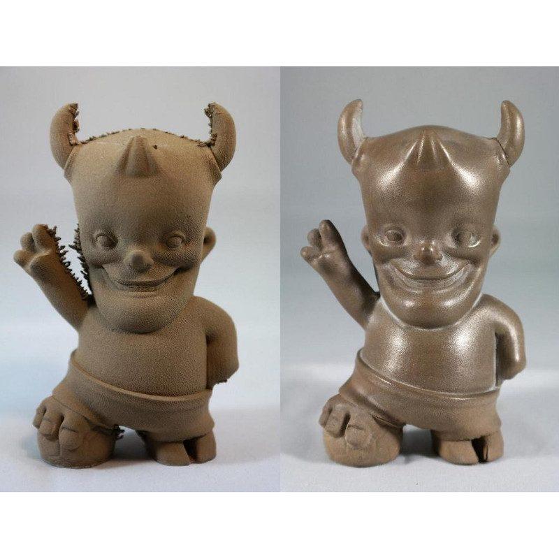 bronzeFill metal 3D printer filament examples