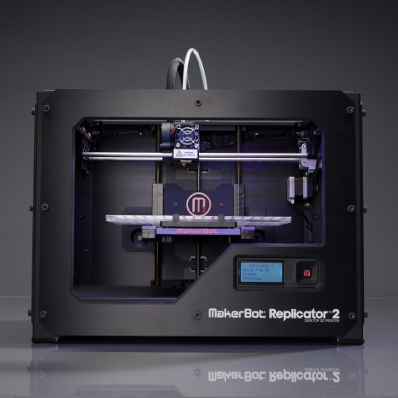 Makerbot Replicator 2 front view