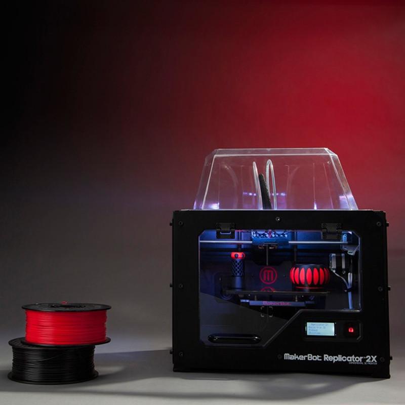 dual extruder makerbot replicator 2x