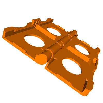 3D printable SD card holder