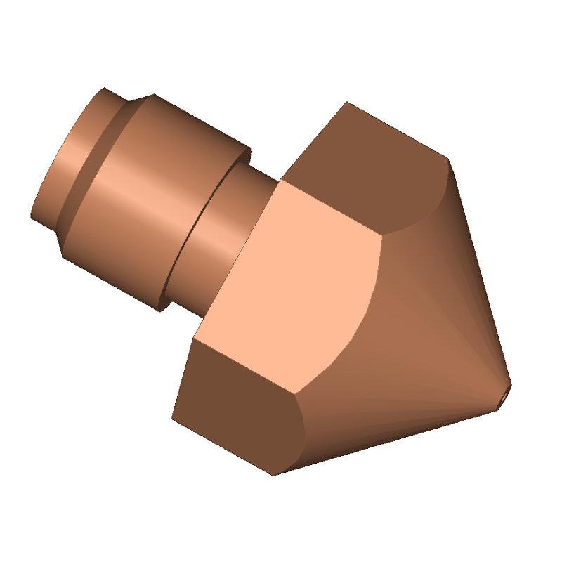 Nozzle for Ultimaker Original + 3D printer