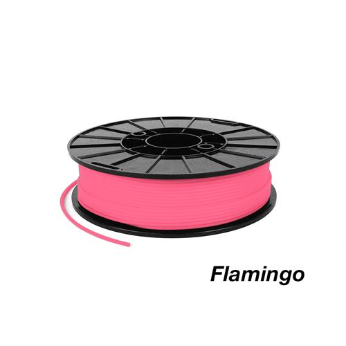 flamingo pink ninjaflex flexible 3D printer filament