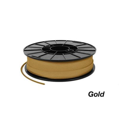 gold flexible filament from ninjaflex