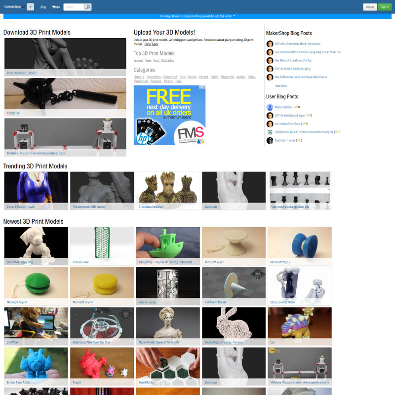 iDig3DPrinting - Your UK 3D printing store for 3D printers