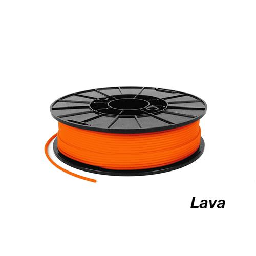flexible orange lave ninjaflex filament