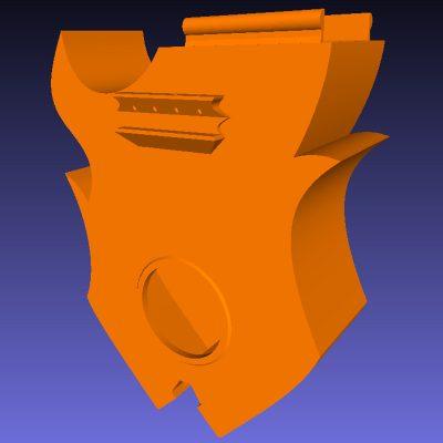 Ukulele body .STL file