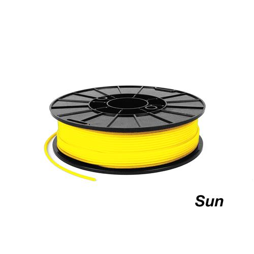 Yellow Sun Ninjaflex stretchy filament