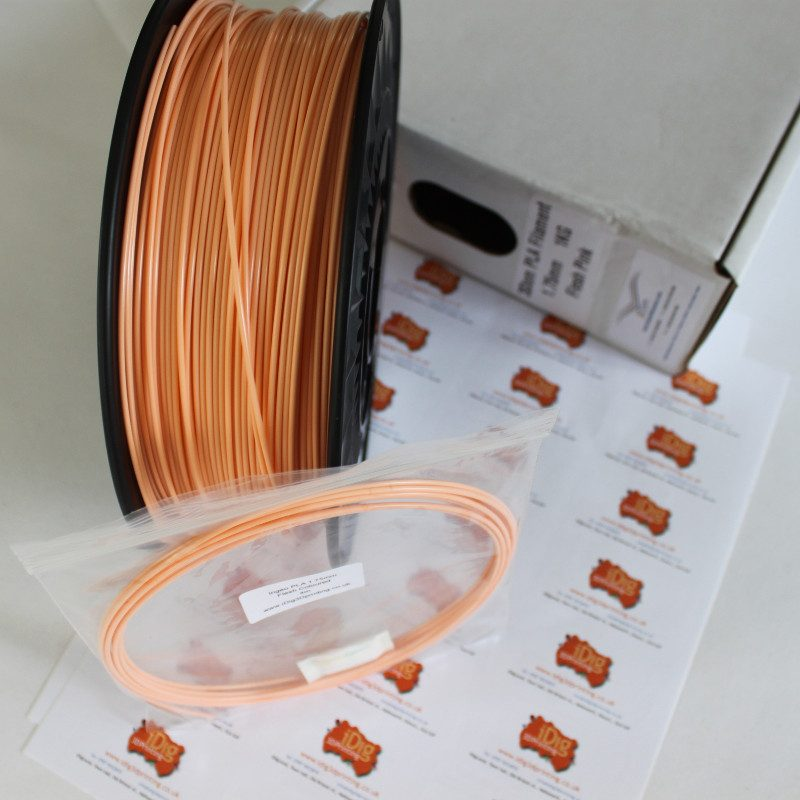 flesh coloured PLA 3D printer filament