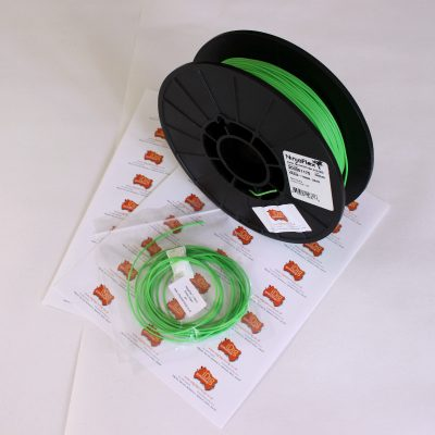 NinjaFlex 3D printer sample packs