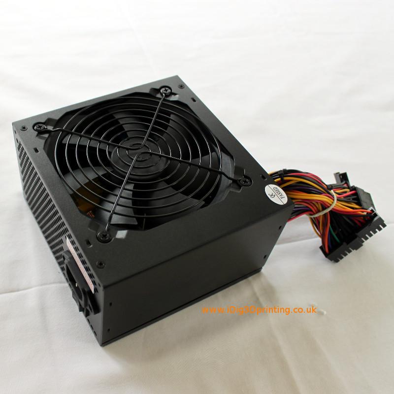 ATX PSU used to power Prusa i3 3D printer