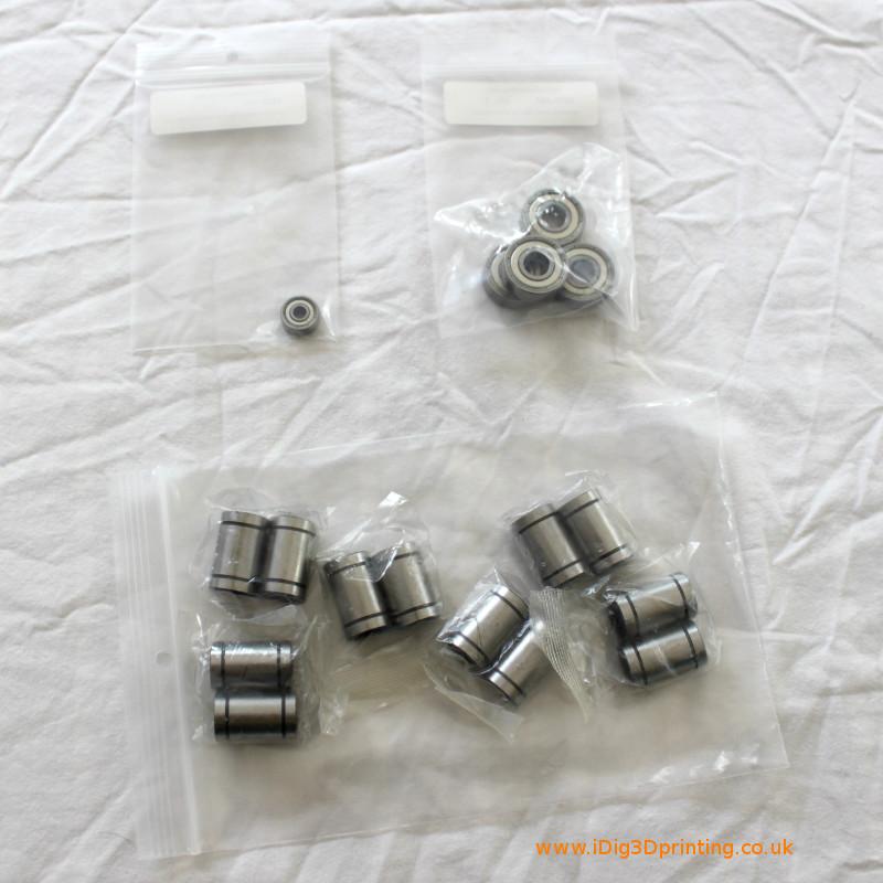 bearings for reprap 3D printers