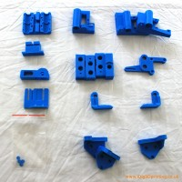Printed parts for the Prusa i3
